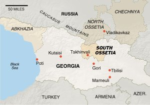Russia Bombs Civilians in Gori