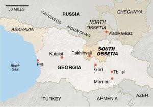 Russia Bombs Civilians in Gori