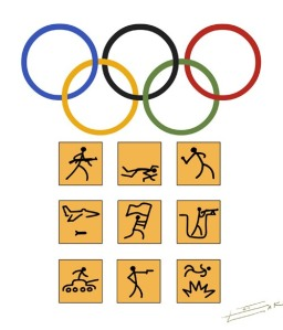 Ellustrator's New Logo for the 2014 Olympics in Sochi, Russia