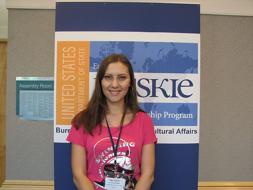 Olga Ivanova, 2007 Muskie Scholarship Program, Duquesne University