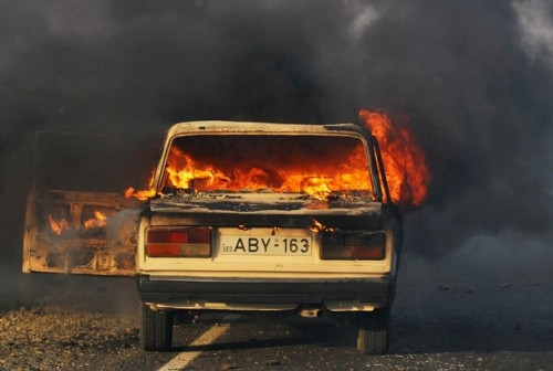 Russian forces occupy Gori, obliterate the city