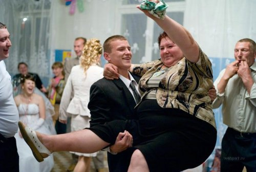 Myth #1 - Russians are fat because of their disregard of healthy diet; in fact, Russians are svelt as runway models, much much thinner than Americans