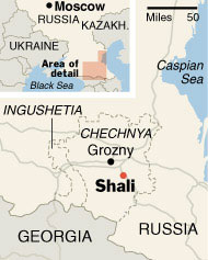 Chechnya is burning