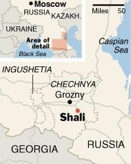 Chechnya is burning