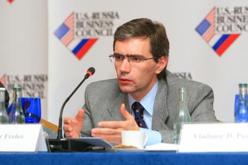Kremlin stooge Vladimir Frolov