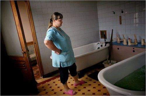 Ah, the joys of a luxury spa treatment in Sochi!