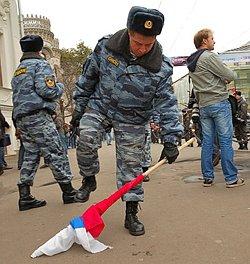 Patriotism flowers in Putin's Russia