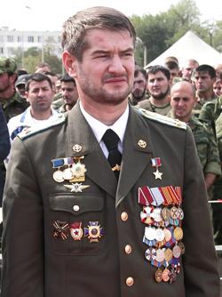 Vostok Battalion Commander Sulim Yamadayev