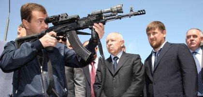Mr. Medvedev takes Aim