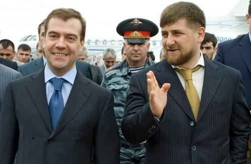 RUSSIA-CHECHNYA-KADYROV-MEDVEDEV
