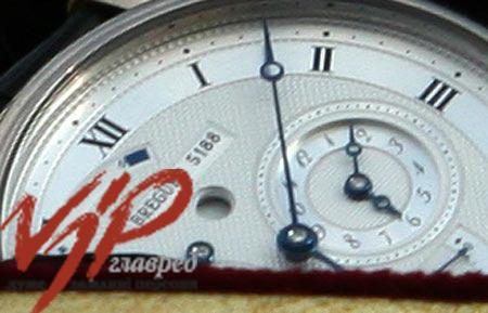A $30,000 Breguet wristwatch