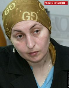Zarema Sadulayeva in 2006.  Murdered by the Kremlin last Tuesday. RIP
