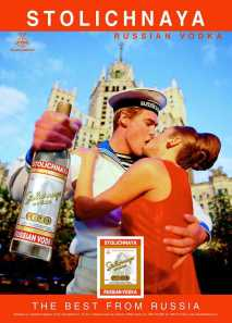 What girl doesn't love a Russian man loaded down with vodka?